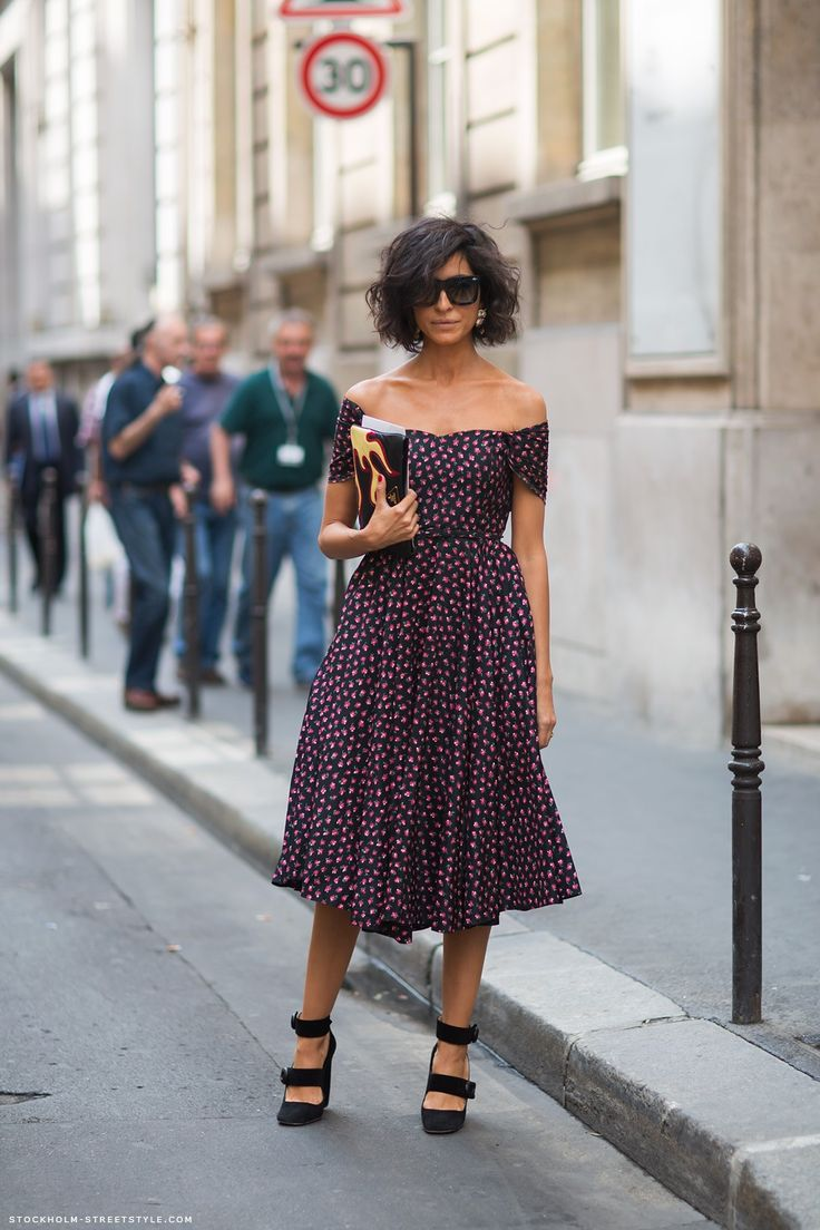 Hair + shoulders: Fashion, Off Shoulder, Street Style, Dresses, Hair