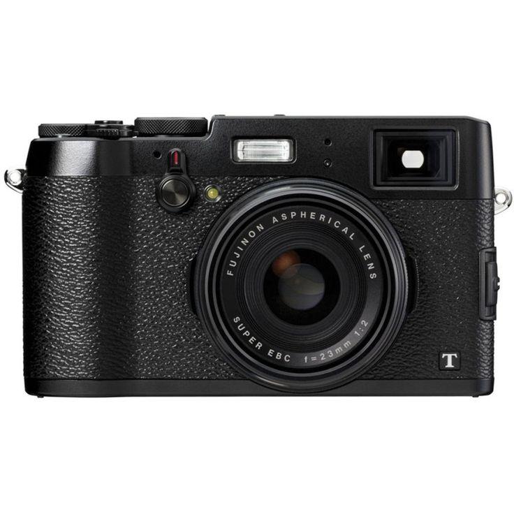 นำเสนอ<SP>Fujifilm FinePix X100T Full 16.3 MP (Black)++Fujifilm FinePix X100T Full 16.3 MP (Black) 16.3MP APS-C X-Trans CMOS II Sensor EXR Processor II Fujinon 23mm f/2 Fixed Focal Length Lens Hybrid Optical and Electronic Viewfinder Parallax-Correct Elec ...++