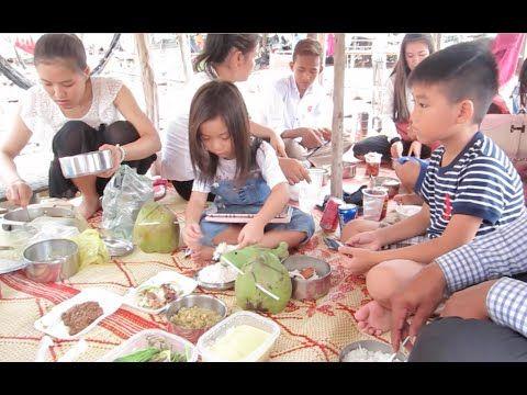 Lunch Break on Cottage at Tonle Bati Resort in Cambodia