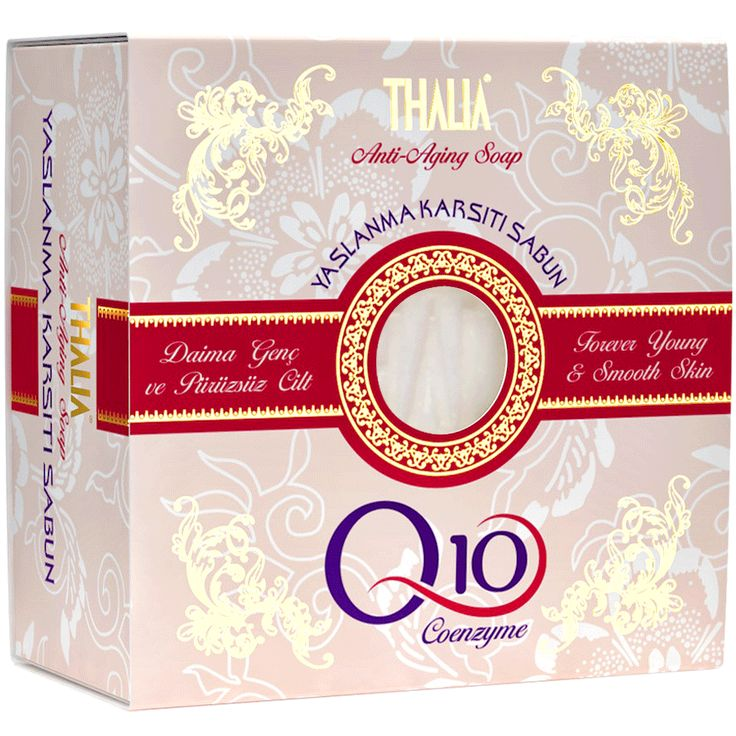 Thalia Doğal Coenzym Q10 Sabun sabun içeriğindeki Koenzim Q10 sayesinde kırışıklarla cildin derinliklerinde savaşır ve cildin doğal Q10 seviyesini arttırır. Üzüm çekirdeği yağı ve Q10 cildin doğal yenilenme sürecinde rol oynayan önemli bileşenlerdir. Bu maddeler, cildin sağlıklı bir şekilde yenilenmesine, pürüzsüz ve genç görünümünü korumasına yardımcı olur. #coenzym #sabun #katısabun #thalia #thaliasabun #sabunlar #doğalsabun #organik #cilt #ciltbakım
