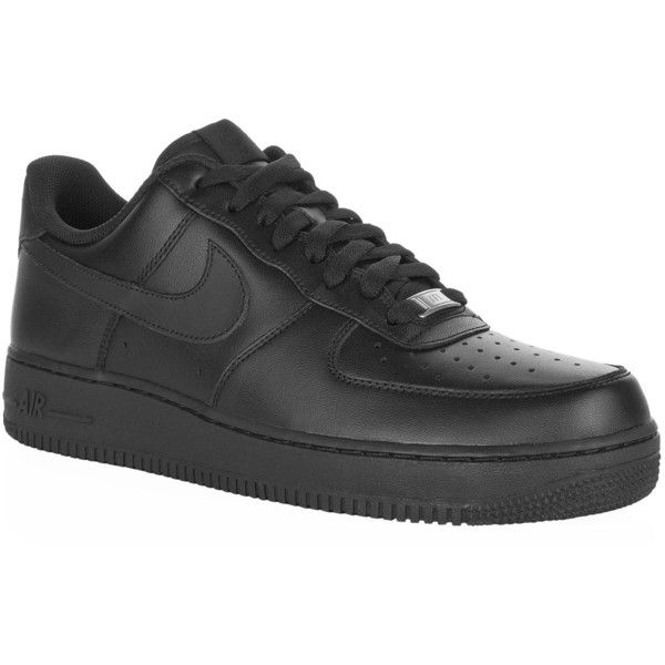 Nike Air Force One Low Sneaker ($99) ? liked on Polyvore featuring shoes,