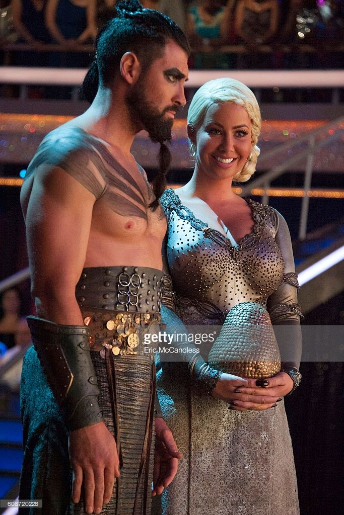 Maks Chmerkovskiy and Amber Rose - The 13 celebrities get ready to dance to some of their favorite TV theme songs as TV Night comes to 'Dancing with the Stars,' live, MONDAY, SEPTEMBER 19 (8:00-10:01 p.m. EDT), on the ABC Television Network. MAKSIM