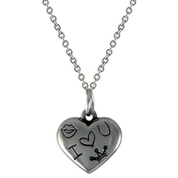 NH3285OC Srdce náhrdelník z chirurgickej ocele : Šperky Swarovski, SuperSperky.sk