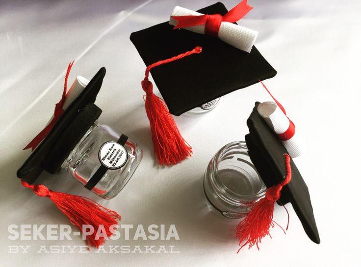 Selçuk Üniversitesi Mezuniyet Mini Kep Kavanoz