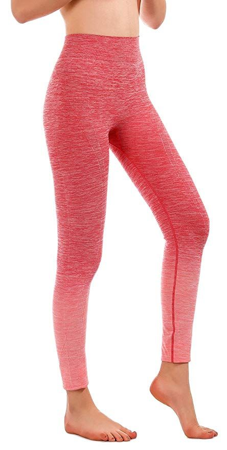 b9273d99aa670 Amazon.com: RUNNING GIRL Ombre Yoga Pants Performance Active Stretch Running  Leggings(2015