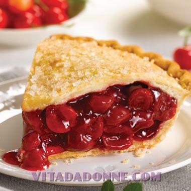 Ricetta originale American Cherry Pie, la ricetta della torta alle ciliegie…