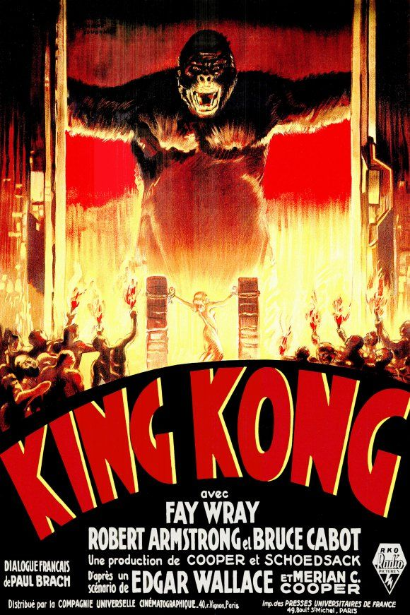 Image detail for -Killer Vintage King Kong Movie Posters | All Things Illustration and ...