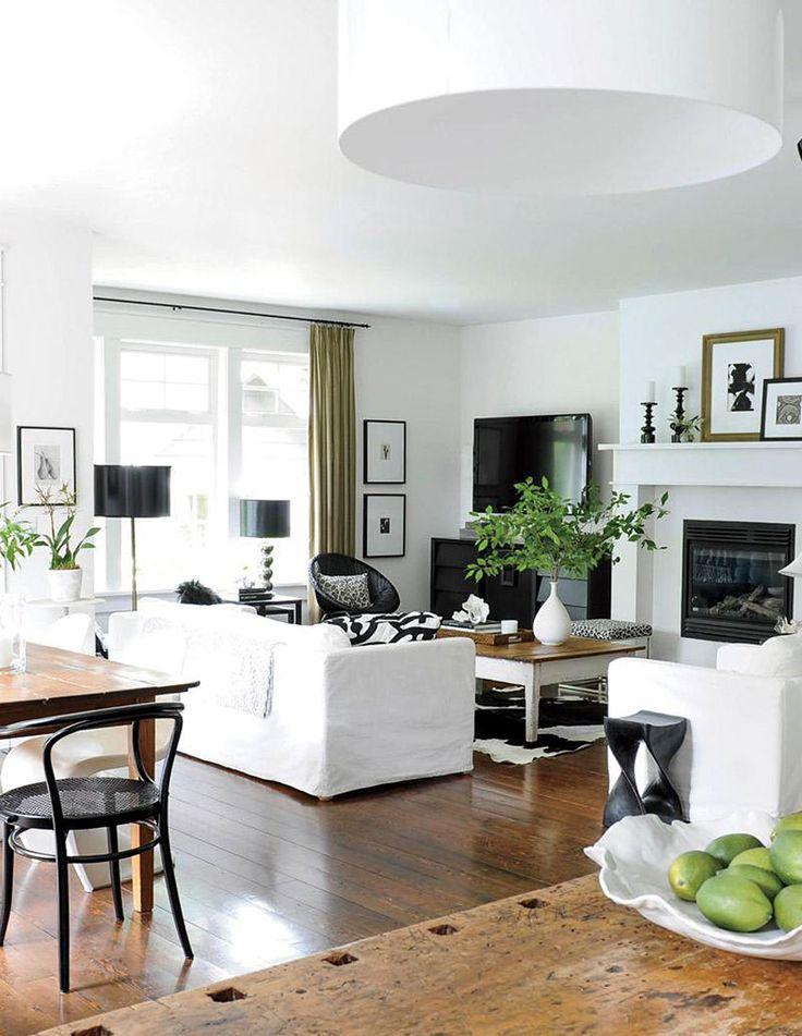 70 best BLACK, WHITE \ GOLD images on Pinterest Home, Living - black white and gold living room ideas
