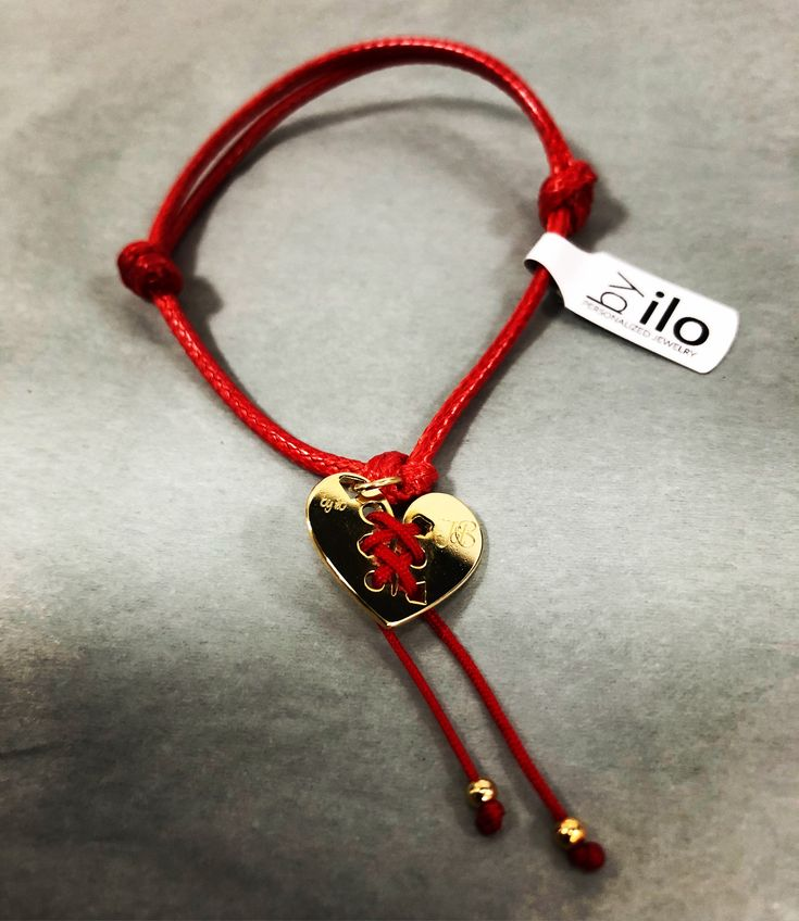 Heart broken bracelet