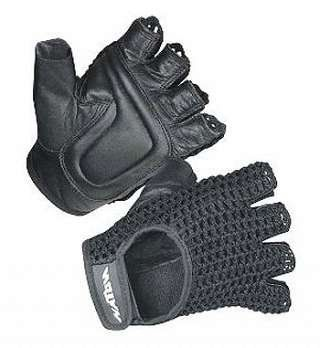 Mesh Wheelchair Gloves - Black LARGE, Protect your hands from blisters and other uncomfortable abrasions with Mesh Wheelchair Gloves. The durable, high quality leather palm is made with built-in foam cushions for increased hand comfort an..., #Health, #Gloves