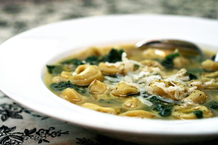1000+ images about Tortellini Soup on Pinterest | Lemon soup, Veggies ...