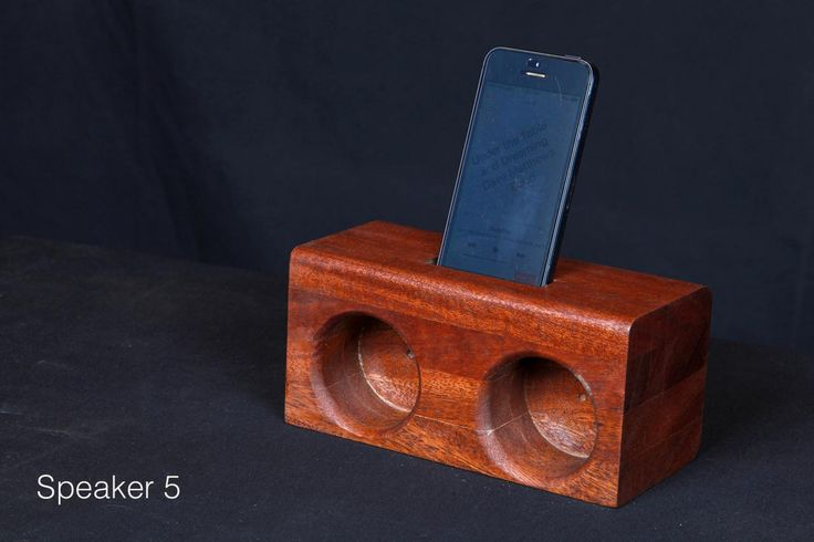 Smartphone acoustic amplifying speaker