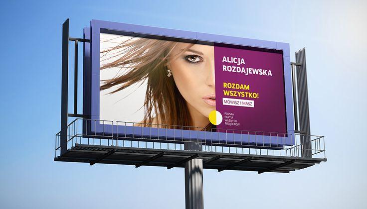 Mock-up – billboard