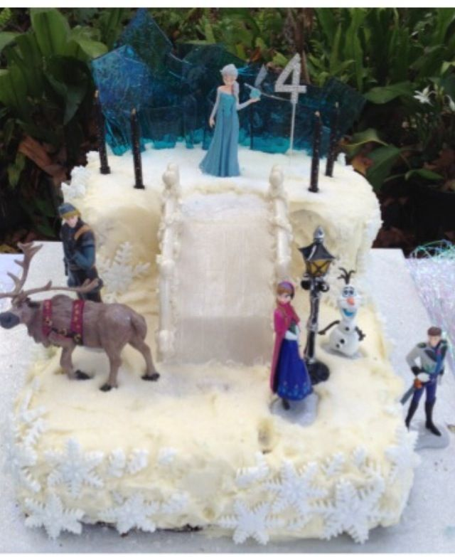 7 best Frozen Party for a 4 year old images on Pinterest Frozen