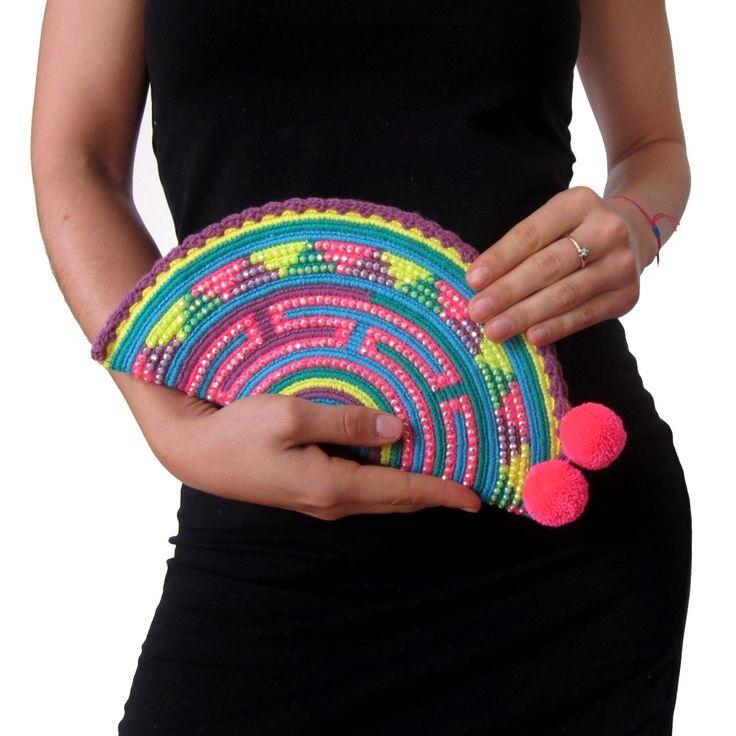 Wayuu Clutch. Handmade and Fair Trade Wayuu Clutches – LOMBIA & CO. | www.LombiaAndCo.com