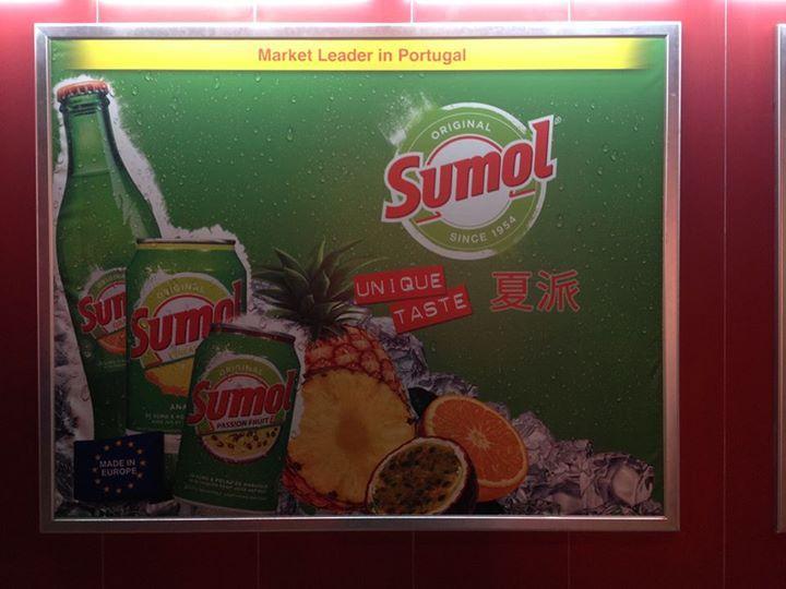 Sumol na China
