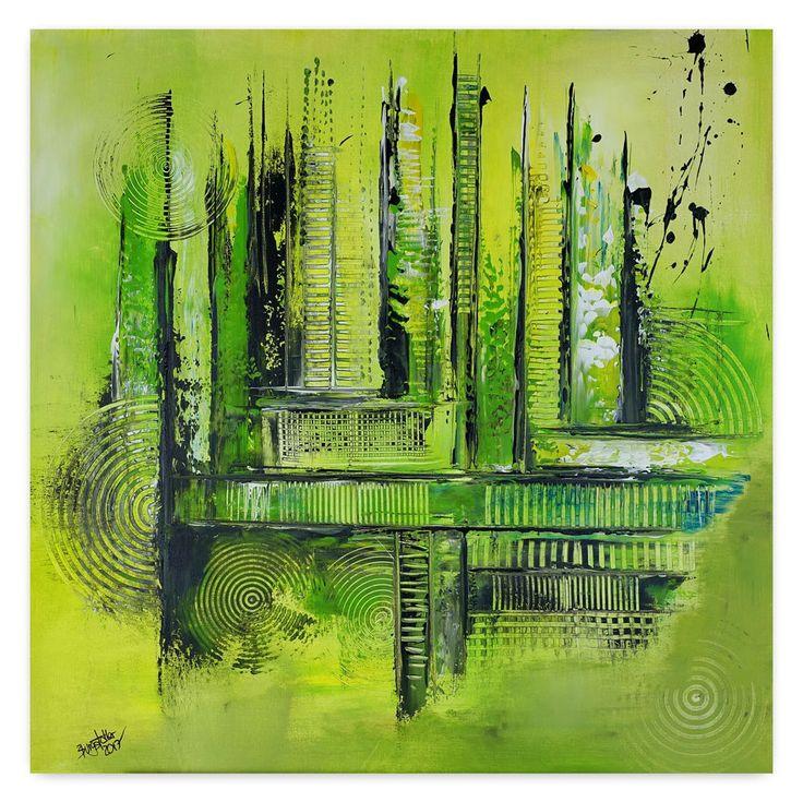 BURGSTALLER Original Gemälde Labyrinth Wandbild Gemälde abstraktes Unikat Acryl  #abstraktekunst #abstractpainting #artwork #abstract #abstrakt #gemäldeabstrakt