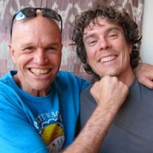 Caballo Blanco & Scott Jurek. Legends. Two of the people that inspired me to get out in the woods more. RIP Caballo Blanco.
