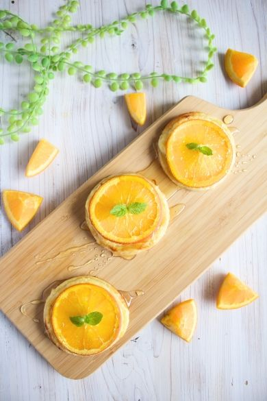「簡単可愛い*オレンジチーズハニーパイ」たっきーママ | お菓子・パンのレシピや作り方【corecle*コレクル】