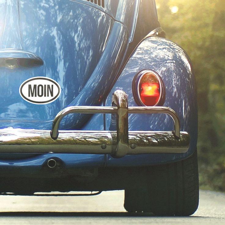 MOIN. Moin Aufkleber für Auto & Co >>
