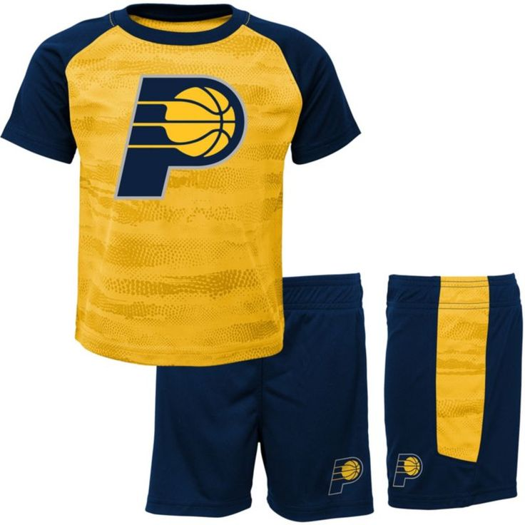 NBA Toddler Indiana Pacers Shorts & Top Set, Team