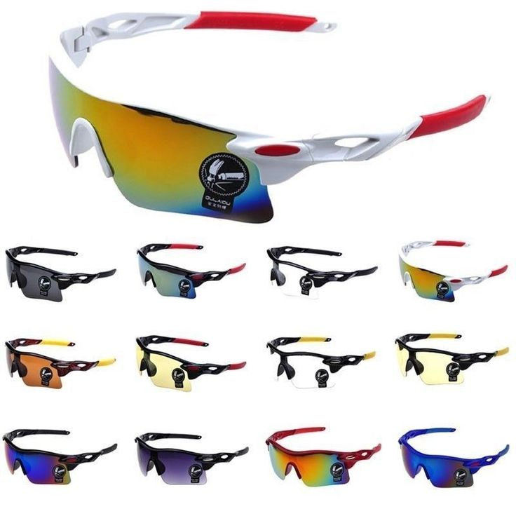 Polarized Cycling Sunglasses Sports Glasses Bike Outdoor Goggles UV400 Unisex  #Unbranded
