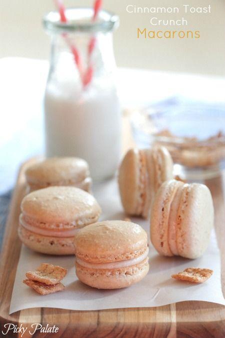 Cinnamon Toast Crunch Macarons by Picky Palate