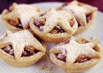 Christmas Food Recipe: Starry Mince Pies ...