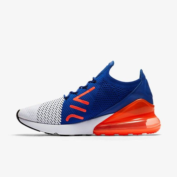 Nike Air Max 270 Flyknit Bue/Red