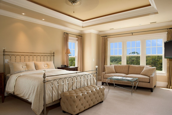 Nice Seating Area Master Bedroom Pinterest