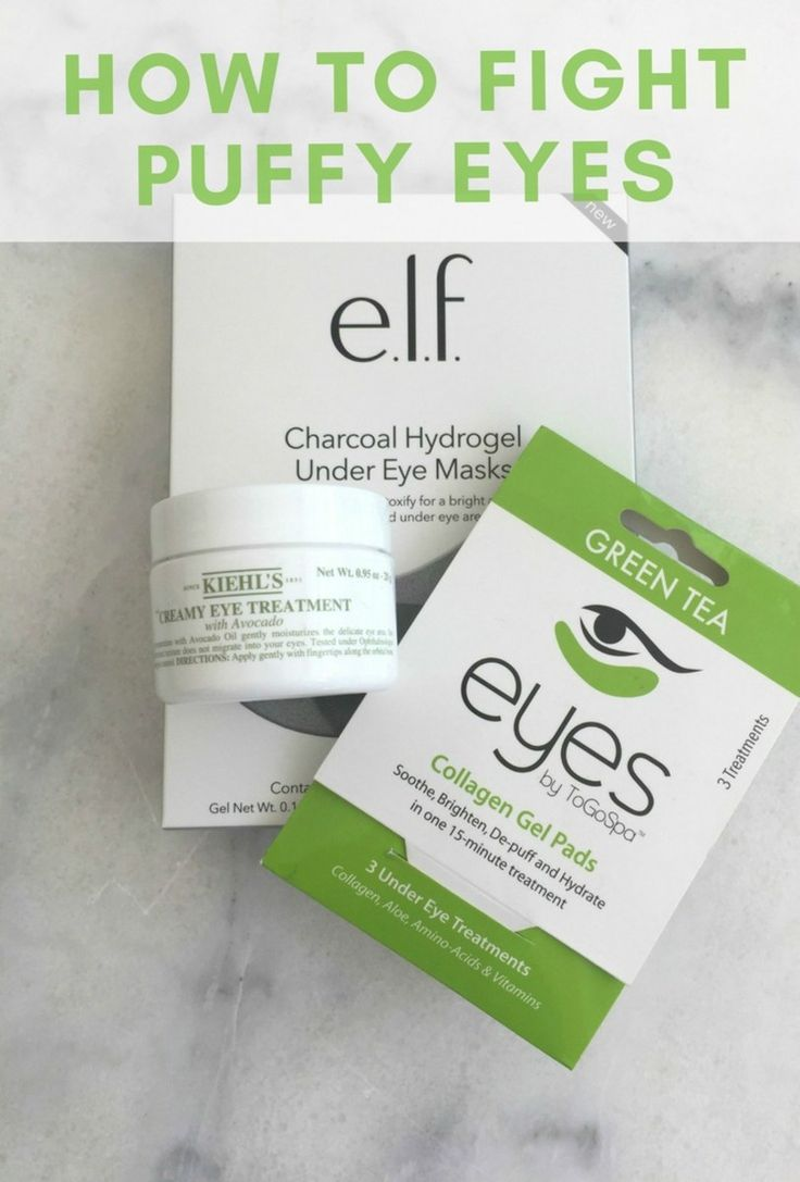 How to get rid of puffy and tired eyes. MomTrends.com #skincare #beauty #formom #puffyeyes