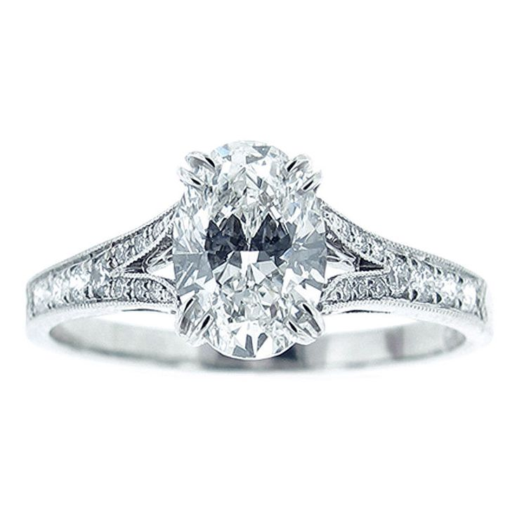 1000 ideas about Oval Diamond Rings on Pinterest