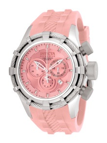 Unisex Reserve Bolt Stainless Steel & Pink Watch by Invicta Watches
