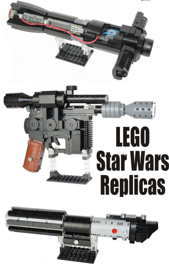 Too cool!!  Amazing replicas of Star Wars light sabers and blasters #ad