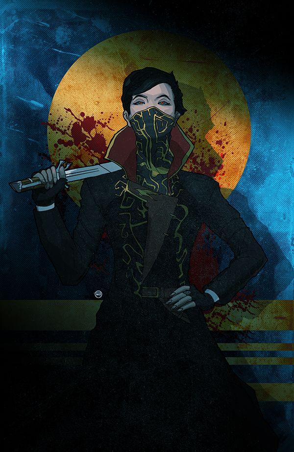 Empress Emily Kaldwin - Art by TS Branch