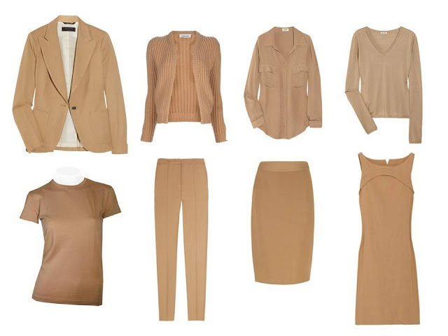 How to build a Wardrobe: Camel, Navy, Pastel and a LOT of pictures.  Use any 2 neutrals.. | The Vivienne Files 1-15-12