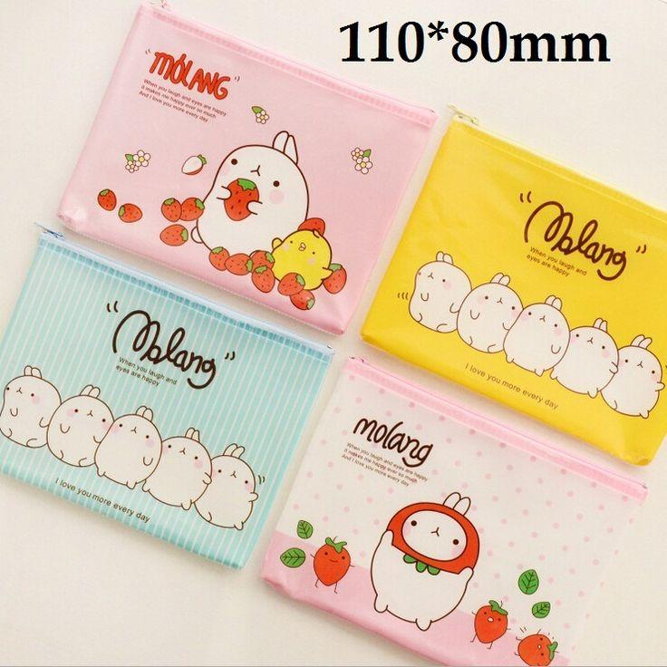 1PC/Lot Korea Cartoon Potato Rabbit series Mini File bag/ clean up bag/ small pouch / 110*80mm/zakka office school supplies