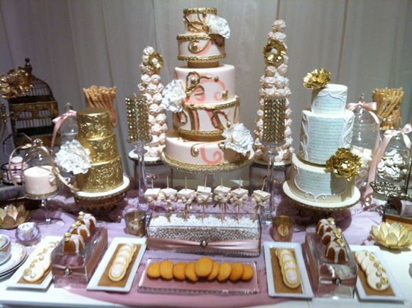 17 best images about shabby chic dessert tables on - Tables roulantes dessertes ...