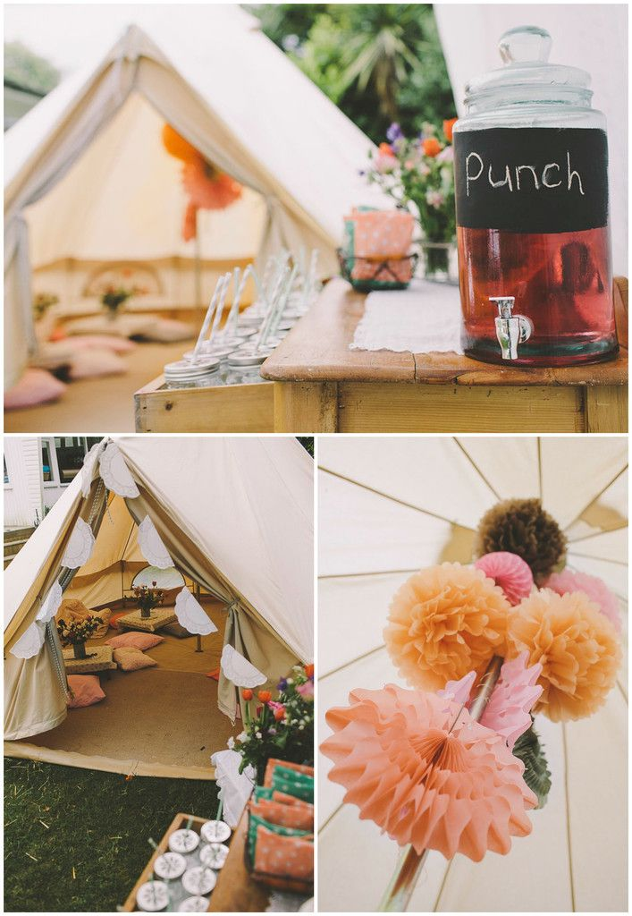 Glamping festival Party ideas for a 8 -10 year old girl