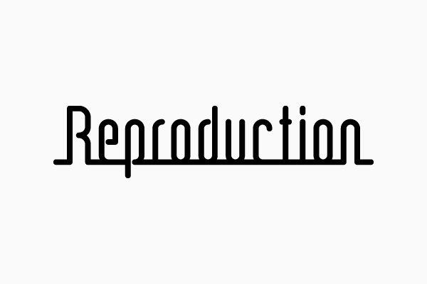 コトホギデザイン | 東京都杉並区・デザイン事務所 | 実績紹介 | LOGO(CI / VI) | 株式会社Reproduction