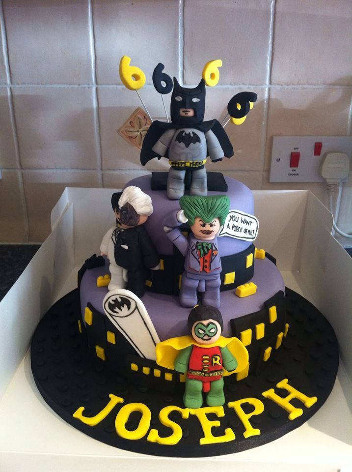 Children s Birthday Cakes Lego Batman cake