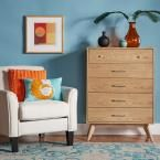 Holbrook 5-Drawer Natural Chest