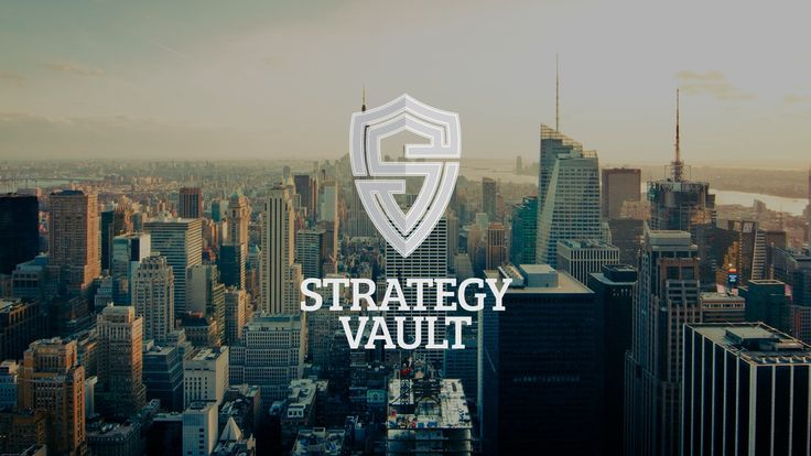 Handcrafted by azanti. Strategy Vault picked this logo out of 371 designs submitted by 11 designers.