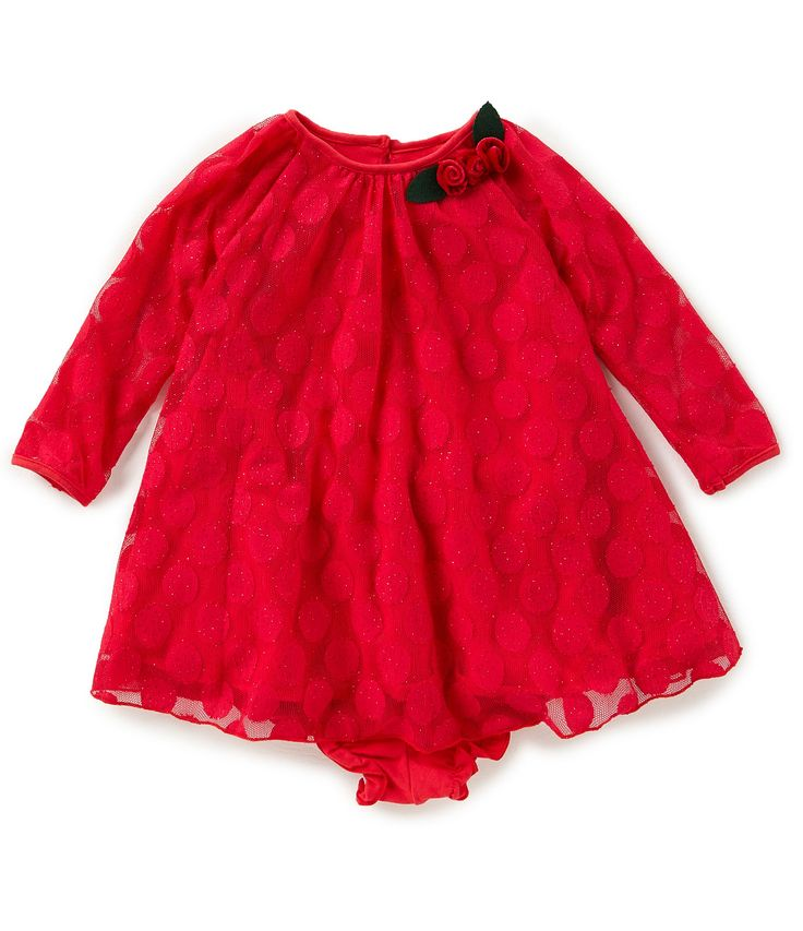 Marmellata Baby Girls 1224 Months Dotted Shift Dress #Dillards