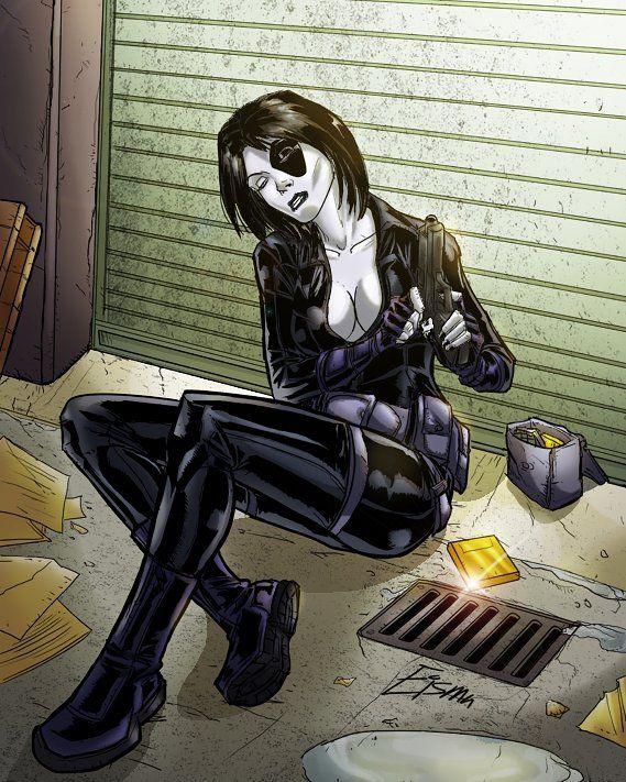 #Domino #Xmen #Marvel #MarvelComics #Comics #ComicBooks by devilzsmile.com #devilzsmile