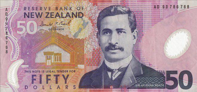 Dólar Neocelandes - Nueva Zelanda