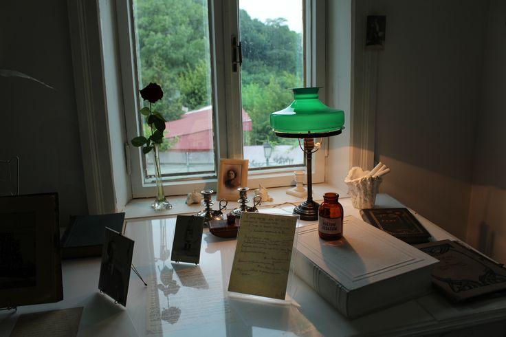 Зеленая лампа