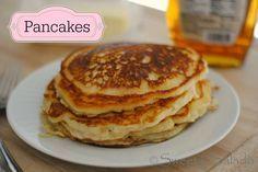 Recetas suero de leche - Pancakes O Panqueques
