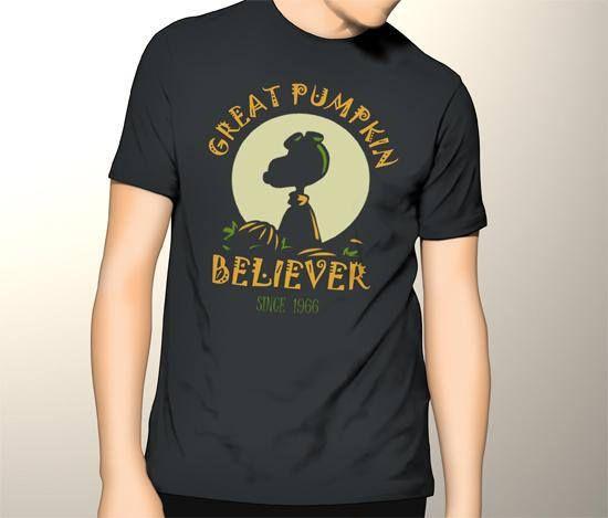 Awesome Gildan Tshirt Snoopy The Great Pumpkin Halloween Men