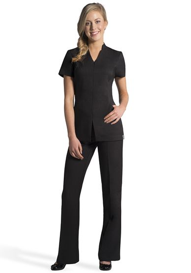 50 best plain shirt uniform for women images on pinterest for Spa uniform uae